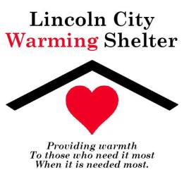 2016 lincoln city warming shelter logo