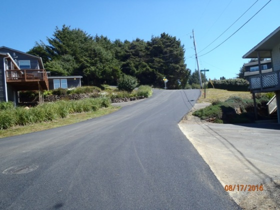 road work ne 61st after 6 august 2016