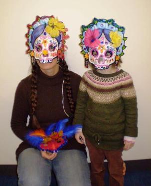 dia-de-los-muertos-mask-photo