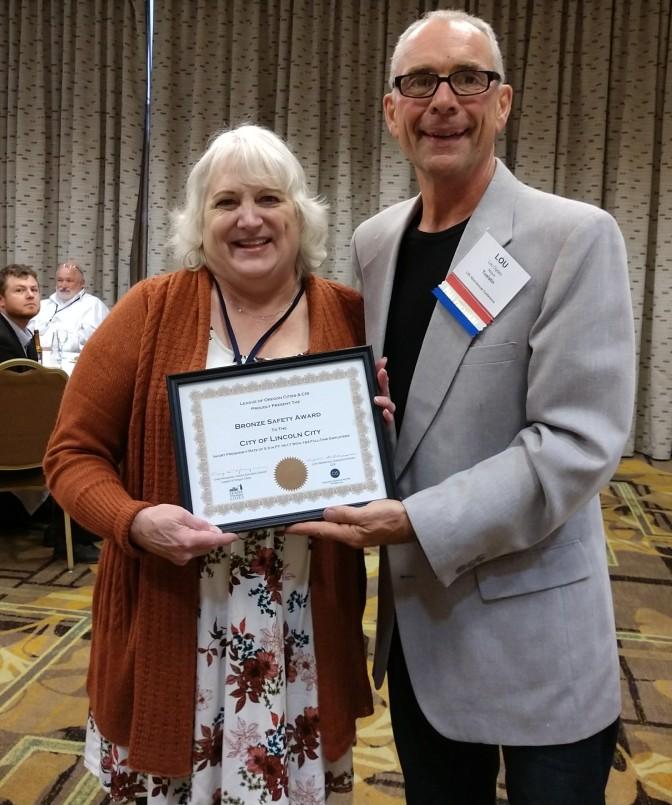 Bronze Safety Award